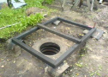 сооружение выгребной ямы